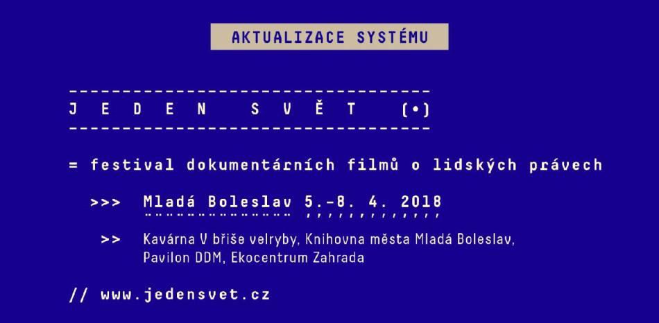 Jeden svět Mladá Boleslav 2018
