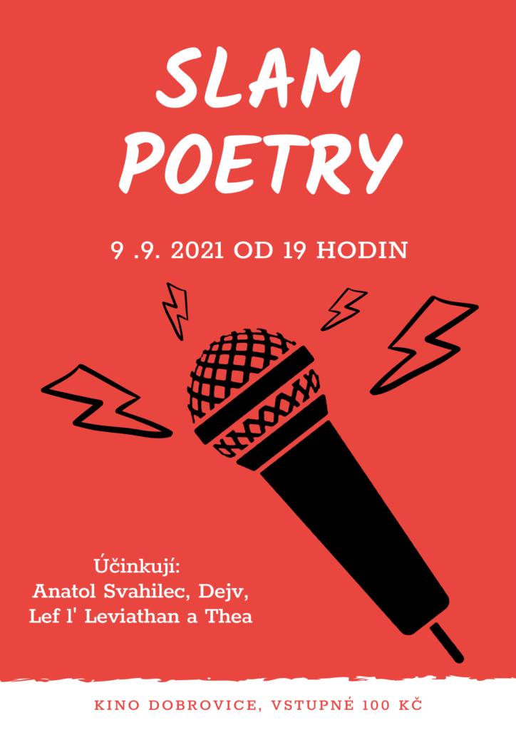 slam poetry kino dobrovice